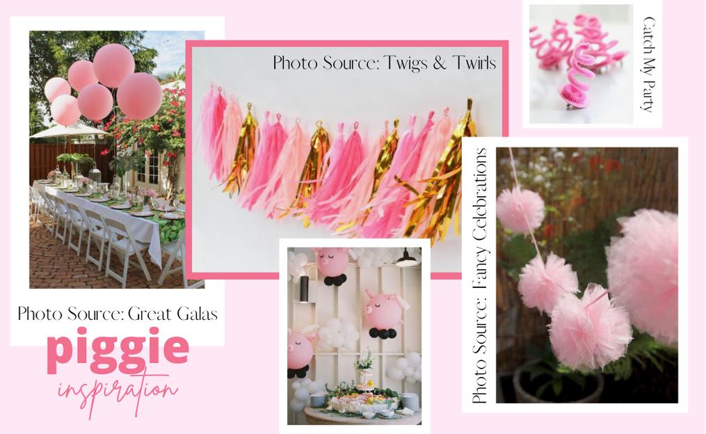 Pink Piggie Idea Board