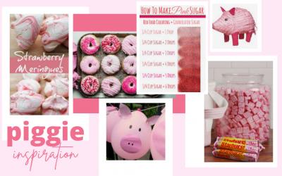 Pink Piggie Pajama Bottoms
