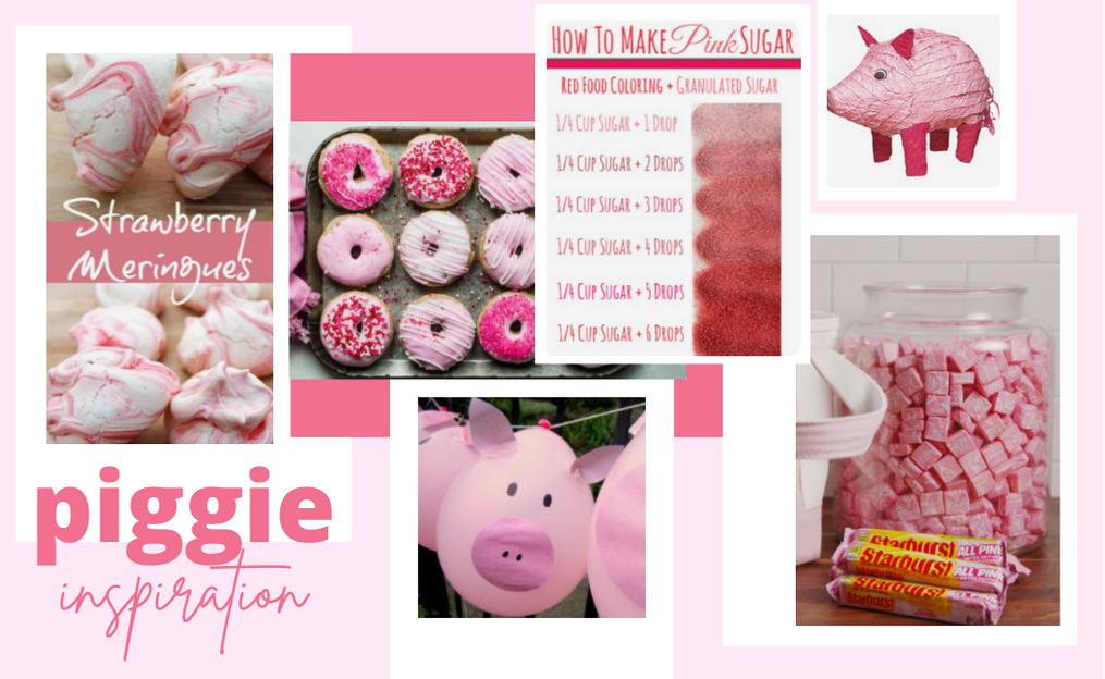 Pink Piggie party ideas for your next book club