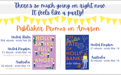 Happy Birthday to me! Publisher Promos on Amazon . . .